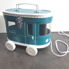 Tram Koffer - petrol