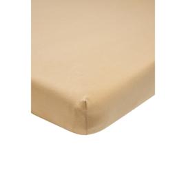 Meyco - Ledikant Hoeslaken - Warm sand (60x120)