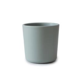 Mushie Cup/Beker (2stuks) Sage