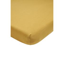 Meyco - Ledikant Hoeslaken - Honey Gold (60x120)