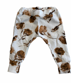 Slim Jogger birds and flowers