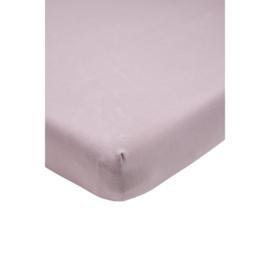 Meyco - Ledikant Hoeslaken - Lilac (60x120)