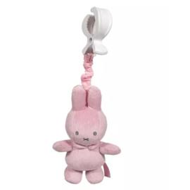 Tiamo Nijntje Trilfiguur pink baby rib