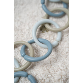 Tiamo Little Dutch Little Loops speelgoedringen blauw