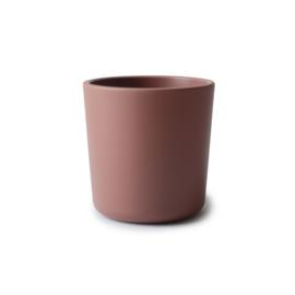 Mushie Cup/Beker (2stuks) Woodchuck