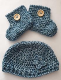 Baby mutsje blue apatite