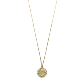 Ketting vintage coin gold