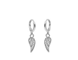 Oorbellen Angelwings zilver