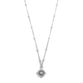 Ketting compass silver