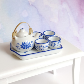 Tea Set - Blue Willow