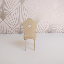 Heart Motif Chair