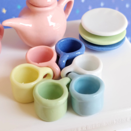 Tea Set - Pastels