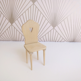 Heart Motif Chair