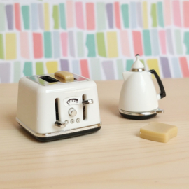 Modern White Toaster
