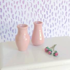 Pale Pink Vase