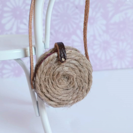 Round Woven Bag