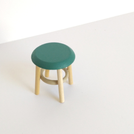 Coloured Short Stool