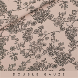Cherry Blossom  - Double Gauze - Bleekroze - See you at six