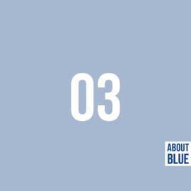 3 Cashmere Blue - boordstof