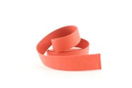 Tassenband - Donker Persimmon - See you at six
