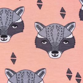 Raccoon - pink  *Bio
