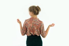 Gilly Flowers - Viscose Rayon - Zonnebrandbruin