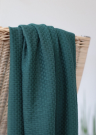 Organic wicker knit - petrol - Mind the Maker