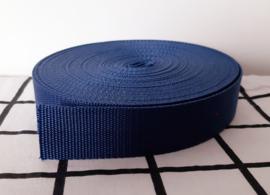 Donkerblauwe tassenband