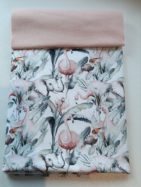 Flamingo tricot pakket