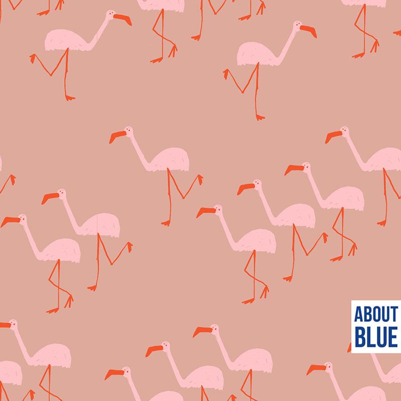 Flamingo - About Blue Fabrics