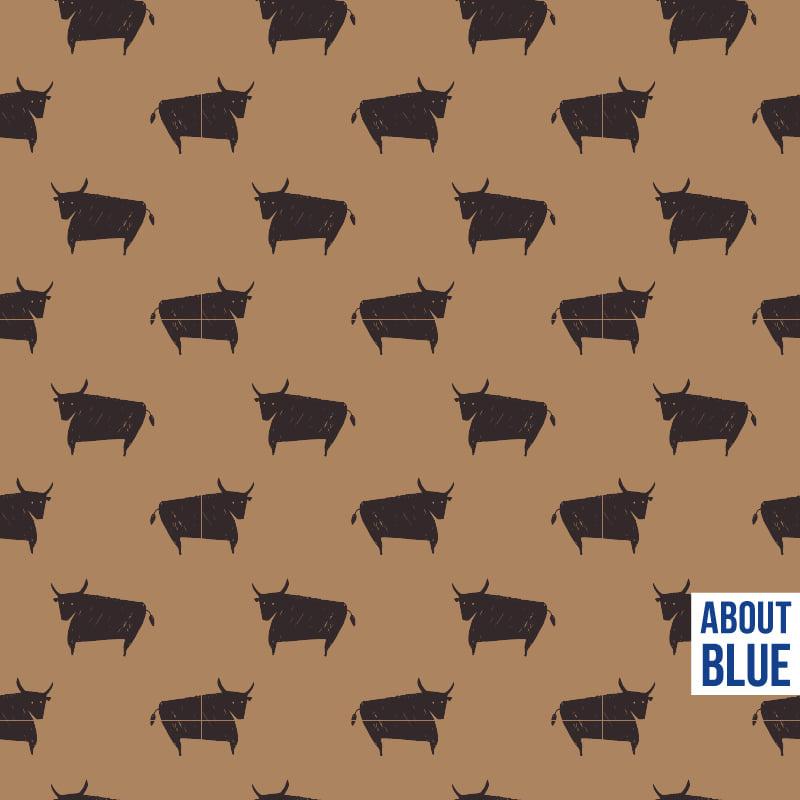 Bull - About blue fabrics