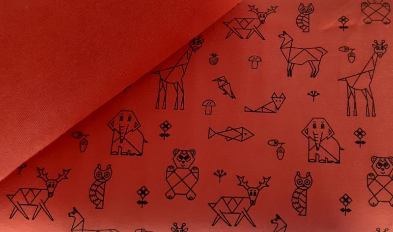 Dieren roest tricot