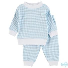 Pyjama Wafel Azur