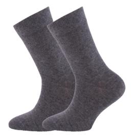 sokken 2-pack 29223 grijs