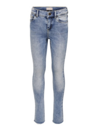 KIDS ONLY KONBLUSH SKINNY RAW JEANS Light Blue