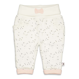 Feetje Broek AOP - Cutest Thing Ever off white