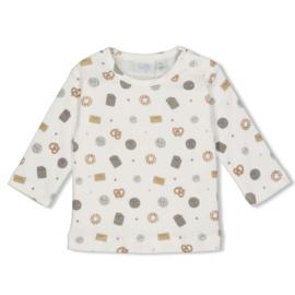 Feetje Shirt AOP - Mini Cookie