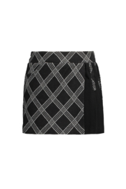 B.Nosy Girls short with check ao flap