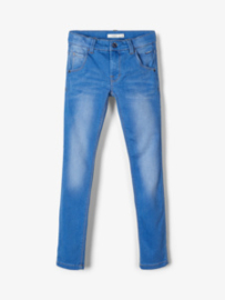 NITCLAS XSL/XSL DNM PANT Medium blue denim