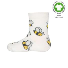 Socken GOTS Bienen
