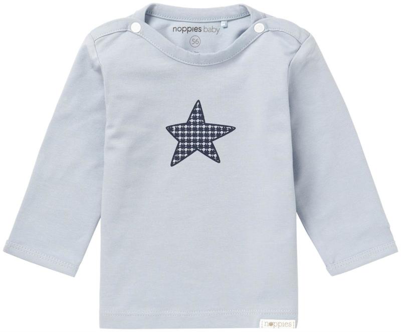 Noppies shirt  prematuur Monsieur Grey Blue