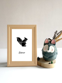 Dierenposter Eekhoorn