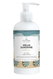 Hand lotion Hello sunshine