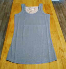 Basic top Sparkling blue