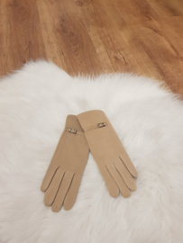 Gloves Beige riempje