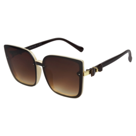 Sunglasses Big Eye Brown