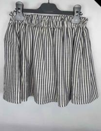 Skirt Stripes Black/White