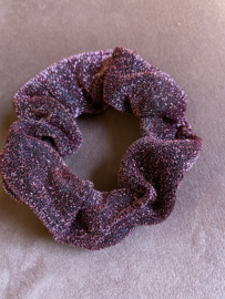 Scrunchie Roze glitter