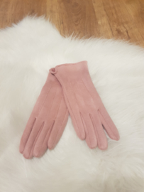 Gloves roze
