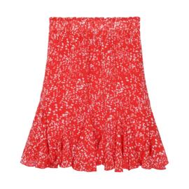 Skirt sunshine red